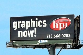 Billboard printing Houston